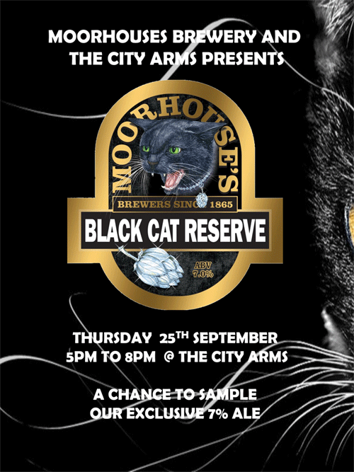 Moorhouse's Black Cat Reserve Roadshow